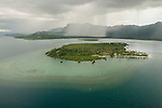 Aerial - Nukubati Island.