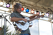 Kraig Kenning plays the blues at Bamfest  in Belleville Wisconsin on July 13, 2007 just south of Madison