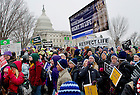 Jan. 25, 2013; 2013 March for Life in Washington, D.C. Photo by Barbara Johnston/University of Notre Dame
