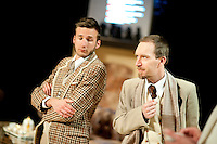 Theatre company WTThumor playing 10 Kleine Negers / And Then There Were None from Agatha Christie, directed by Gert Boey (Belgium, 15/04/2015)