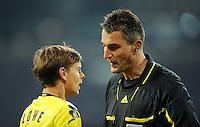 FUSSBALL   1. BUNDESLIGA   SAISON 2011/2012   SUPERCUP FC Schalke 04 - Borussia Dortmund            23.07.2011 Schiedsrichter Knut KIRCHER (re) und Chris LOEWE (li, Dortmund)