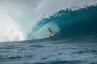 Namotu Island, Fiji (Monday, June 15, 2015) Adam Melling (AUS) - Pumping 10-to-12 foot (3 - 3.5 metre) waves were on offer at the primary venue of Cloudbreak today as the world&rsquo;s best surfers whittled the competitive field down to the final eight at the Fiji Pro.<br /> <br />  <br /> Stop No. 5 of 11 on the 2015 WSL Championship Tour (CT), the Fiji Pro saw a major ratings shakeup yesterday when wildcard Dane Reynolds (USA) eliminated Jeep Ratings frontrunner Adriano de Souza (BRA) in Round 3 of competition. The upsets continued today with Kai Otton (AUS) ousting No. 2 Filipe Toledo (BRA) during this morning&rsquo;s Round 3 bout.<br /> The afternoon&rsquo;s Round 5 action was punctuated with high drama in Brazilian rookie Italo Ferreira&rsquo;s elimination of 11-time WSL Champion and four-time Fiji Pro winner Kelly Slater (USA) in the opening heat of the round.<br />  <br /> As the surf built throughout the day, so did the performances of the world&rsquo;s best surfers. <br /> <br /> Other Round 5 victors included Taj Burrow (AUS) over Dane Reynolds (USA), Kai Otton (AUS) over Mick Fanning (AUS) and Owen Wright (AUS) posting a Perfect 20 out of 20 en route to defeating Adam Melling (AUS). Wright&rsquo;s commitment to placing himself as deep and critically as possible in the barrel was phenomenal this afternoon, netting the Australian only the seventh Perfect Heat Total in the sport&rsquo;s history.<br /> Photo: joliphotos.com