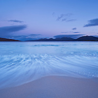 Morning light on Luskentyre beach, Isle of Harris, Outer Hebrides, Scotland