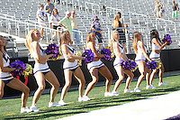 AUG 16, 2014:  University of Washington cheerleader Lexi Nunes during Football Picture Day at Husky Stadium in Seattle, Washington