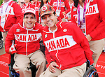 LONDON, ENGLAND – 08/26/2012:  Dave Richer and Marco Dispaltro Canada's Flag Raising Ceremony at the London 2012 Paralympic Games. (Photo by Matthew Murnaghan/Canadian Paralympic Committee)