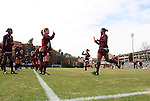 28 November 2008: Texas A&M players warm up before the game. The University of North Carolina Tar Heels defeated the Texas A&M University Aggies 1-0 in double overtime at Fetzer Field in Chapel Hill, North Carolina in a Fourth Round NCAA Division I Women's college soccer tournament game.