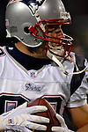 18 November 2007: New England Patriots wide receiver Wes Welker warms up prior to a game against the Buffalo Bills at Ralph Wilson Stadium in Orchard Park, NY. The Patriots defeated the Bills 56-10 in their second meeting of the season...Mandatory Photo Credit: Ed Wolfstein Photo