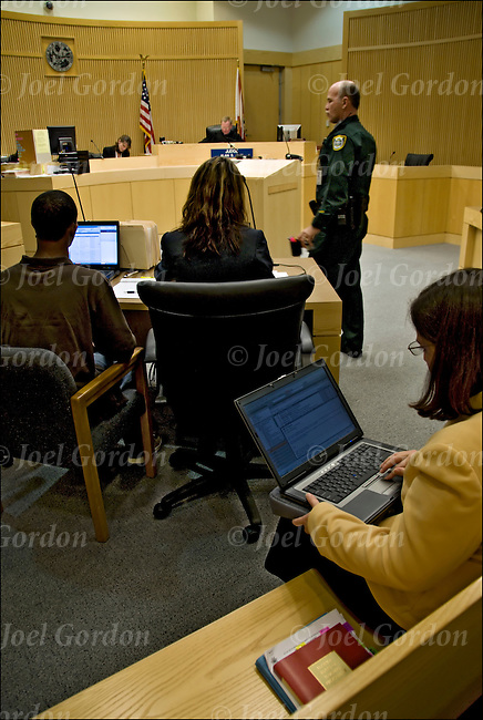 Hearing before teen court panel