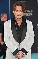 """HOLLYWOOD, CA - May 18: Johnny Depp, At Premiere Of Disney's """"Pirates Of The Caribbean: Dead Men Tell No Tales"""" At Dolby Theatre In California on May 18, 2017. Credit: FS/MediaPunch"""