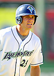 30 June 2007: Vermont Lake Monsters outfielder Mark Gildea warms up prior to a game against the Lowell Spinners at Historic Centennial Field in Burlington, Vermont. The Spinners defeated the Lake Monsters 8-4 in the last game of their 3-game, NY Penn-League series...Mandatory Photo Credit: Ed Wolfstein Photo