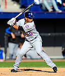 6 March 2010: New York Mets' infielder Luis Hernandez at bat during a Spring Training game against the Washington Nationals at Space Coast Stadium in Viera, Florida. The Mets defeated the Nationals 14-6 in Grapefruit League action. Mandatory Credit: Ed Wolfstein Photo