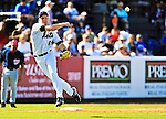 7 March 2010: New York Mets' infielder Shawn Bowman in action during a Spring Training game against the Washington Nationals at Tradition Field in Port St. Lucie, Florida. The Mets edged out the Nationals 6-5 in Grapefruit League pre-season play. Mandatory Credit: Ed Wolfstein Photo
