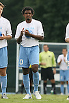 31 August 2008: UNC's Sheanon Williams. The University of North Carolina Tar Heels defeated the Virginia Commonwealth University Rams 1-0 in overtime at Fetzer Field in Chapel Hill, North Carolina in an NCAA Division I Men's college soccer game.