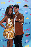 LOS ANGELES - AUG 11:  Danielle Jonas, Kevin Jonas at the 2013 Teen Choice Awards at the Gibson Ampitheater Universal on August 11, 2013 in Los Angeles, CA