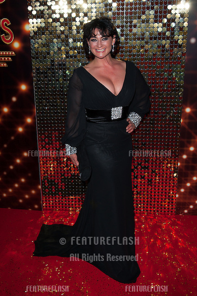 Natalie J Robb arriving for the 2014 British Soap Awards, at the Hackney Empire, London. 24/05/2014 Picture by: Dave Norton / Featureflash