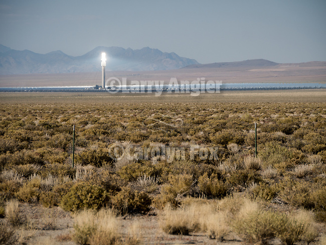 Cresent Dunes Solar Energy Project,  Big Smoky Valley, Nev.