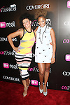 R&B RECORDING ARTIST ELLE VARNER AND TV PERSONALITY AMANDA SEALES RATTENDS BET AND CENTRIC PRESENTS THE FIRST ANNUAL BET ON FASHION PRESENTATION