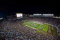TALLAHASSEE, FLA. 11/26/16-The Florida State University Marching Chiefs perform at the start of the game against the University of Florida at Doak Campbell Stadium in Tallahassee.<br /> <br /> COLIN HACKLEY PHOTO