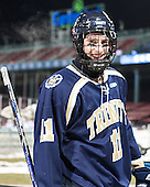 James Burt (Trinity - 11) - The Williams College Ephs defeated the Trinity College Bantams 4-2 (EN) on Tuesday, January 7, 2014, at Fenway Park in Boston, Massachusetts.