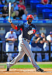 7 March 2009: Washington Nationals' outfielder Roger Bernadina in action during a Spring Training game against the New York Mets at Tradition Field in Port St. Lucie, Florida. The Nationals defeated the Mets 7-5 in the Grapefruit League matchup. Mandatory Photo Credit: Ed Wolfstein Photo