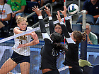 Aug. 28, 2011; Andrea McHugh vs Butler..Photo by Matt Cashore/University of Notre Dame