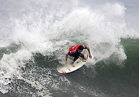 Alain Riou. 2009 ASP WQS 6 Star US Open of Surfing in Huntington Beach, California on July 25, 2009. ..