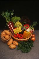 Verdure biologiche. Biological Vegetables..