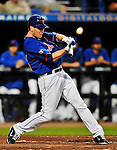 5 March 2012: New York Mets outfielder Jason Bay in action during a Spring Training game against the Washington Nationals at Digital Domain Park in Port St. Lucie, Florida. The Nationals defeated the Mets 3-1 in Grapefruit League play. Mandatory Credit: Ed Wolfstein Photo