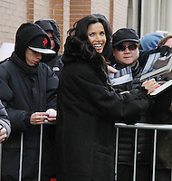 JAN 29 Padma Lakshmi Seen After Guest Co-Hosting on The View
