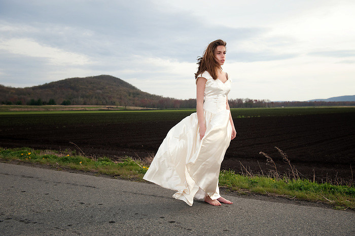 A Teenage Barefoot Bride