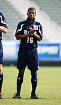 Duke's Zach Pope on Wednesday, November 9th, 2005 at SAS Stadium in Cary, North Carolina. The Duke University Blue Devils defeated the Virginia Tech Hokies 2-0 during their Atlantic Coast Conference Tournament Quarterfinal game.