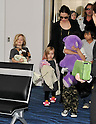 Brad Pitt, Angelina Jolie, Nov 10, 2011 :  Actor Brad Pitt and his family leave Japan on November 10, 2011.