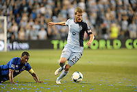 Oriol Rosell (20) midfield Sporting KC in action.<br /> Montreal Impact defeated Sporting Kansas City 2-1 at Sporting Park, Kansas City, Kansas.