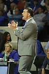UK Hoops coach Matthew Mitchell, now the winningest coach in UK history, cheering on his girls during the second half of the women's basketball game vs. Tennessee at Memorial Coliseum on Sunday, March 3, 2013, in Lexington, Ky. Photo by Kalyn Bradford | Staff