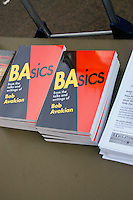 Basics book by Bob Avakian at the Occupy Wall Street Protest in New York City October 6, 2011.