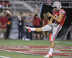 LAS VEGAS, NV - SEPTEMBER 07: Arizona Wildcats vs the UNLV Rebels at Sam Boyd Stadium  in Las Vegas, Nevada. Arizona won 58-13<br /> UNLV   #15 Jann Morkawa