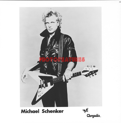 MICHAEL SCHENKER..photo from promoarchive.com/ Photofeatures....