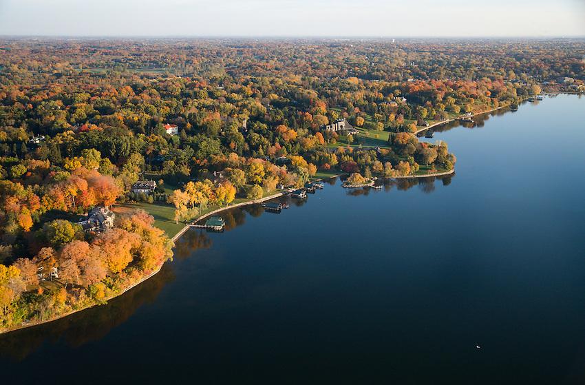 Beautiful Lake Minnetonka Minneapolis Minnesota Usa