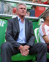 FUSSBALL   1. BUNDESLIGA   SAISON 2011/2012    2. SPIELTAG VfL Wolfsburg - FC Bayern Muenchen      13.08.2011 Trainer Jupp HEYNCKES (Wolfsburg)