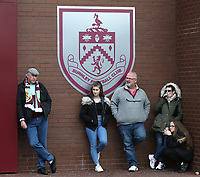 Burnley fans outside Turf Moor waiting for kick-0ff<br /> <br /> Photographer Stephen White/CameraSport<br /> <br /> The Premier League - Burnley v Manchester United - Sunday 23rd April 2017 - Turf Moor - Burnley<br /> <br /> World Copyright &copy; 2017 CameraSport. All rights reserved. 43 Linden Ave. Countesthorpe. Leicester. England. LE8 5PG - Tel: +44 (0) 116 277 4147 - admin@camerasport.com - www.camerasport.com