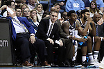 28 December 2016: Monmouth assistant coach Sam Ferry. The University of North Carolina Tar Heels hosted the Monmouth University Hawks at the Dean E. Smith Center in Chapel Hill, North Carolina in a 2016-17 NCAA Division I Men's Basketball game. UNC won the game 102-74.
