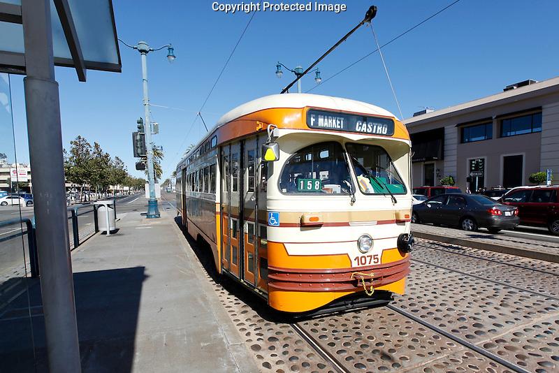 The F Trolley in San Francisco