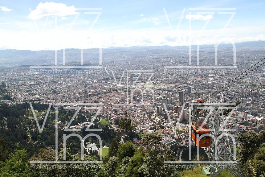 BOGOTA-COLOMBIA-7-01-2013.Panorámicas de Bogotá.Panoramic views of Bogotá.(Photo:VizzorImage/Felipe Caicedo). .