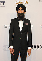 NEW YORK, NY - NOVEMBER 02: Waris Ahluwalia  attends 15th Annual Elton John AIDS Foundation An Enduring Vision Benefit at Cipriani Wall Street on November 2, 2016 in New York City.Photo by John Palmer/ MediaPunch