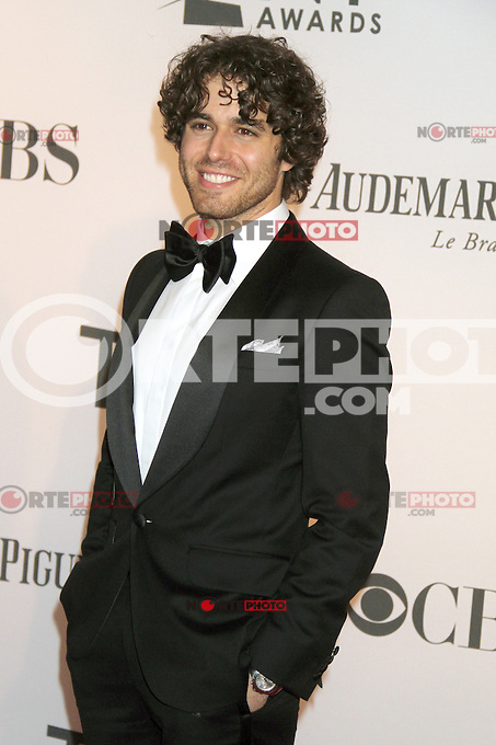 Josh Young at the 66th Annual Tony Awards at The Beacon Theatre on June 10, 2012 in New York City. Credit: RW/MediaPunch Inc.