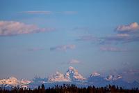 Grand Teton Sunrise, Island Park, Idaho