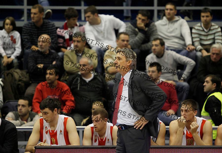 Kosarka, ABA League, season 2010/2011.Crvena Zvezda Vs. Siroki (Siroki Brijeg).Head coach Svetislav Pesic.Belgrade, 16.12.2011..foto: Srdjan Stevanovic/Starsportphoto.com ©
