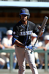 19 February 2017: Kentucky's Tristan Pompey (CAN). The University of North Carolina Tar Heels hosted the University of Kentucky Wildcats in a College baseball game at Boshamer Stadium in Chapel Hill, North Carolina. UNC won the game 5-4.
