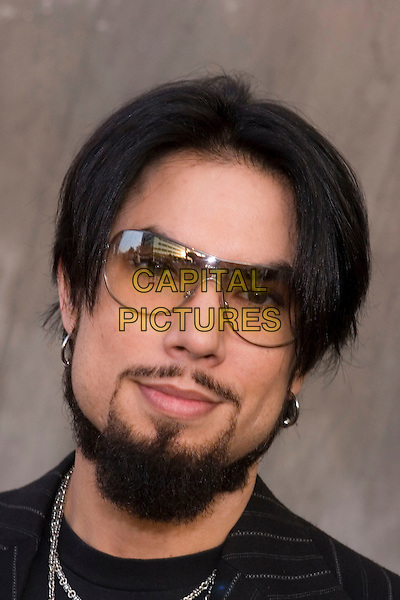 DAVE NAVARRO.CBS Summer 2005 Press Tour Party Arrivals held at the Hammer Museum, Westwood, California.  .July 19th, 2005.Photo Credit: Zach Lipp/AdMedia.headshot portrait goatee facial hair sunglasses shades .www.capitalpictures.com.sales@capitalpictures.com.© Capital Pictures.
