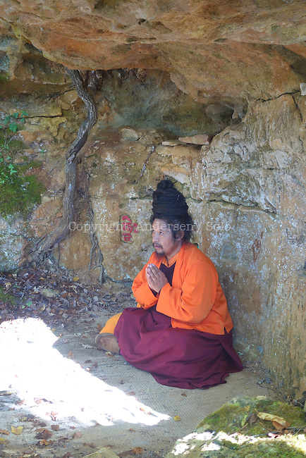 Khenpo Tashi en Dordogne, Octobre 2016.